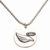 Alexa's Angels Angel Wing Reversible Share Random Acts of Kindness Necklace