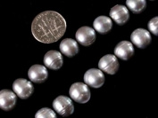 "11-12mm Round Varies Colours Genuine Freshwater Pearl Beads Strand 15"" Jewellery Making Beads"