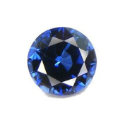 Blue Round Sapphire Loose Unset Gemstone 8mm (Qty=1) Lab