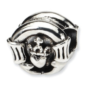 Sterling Silver Reflections Claddagh Bead