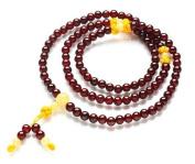 The Art of CureTM (80cm ) Healing Jewellery & Mala meditation beads (108 beads on a strand) Garnet