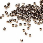 50 Grammes Opaque Metallic Bronze, (DB22) Delica® Myiuki 11/0 Tube Round Seed Bead Approx 10,000 Beads