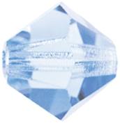 Mode Beads Preciosa Jewellery Bicone Crystals, Lt. Sapphire