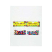 24 Multi-colour crafting pony beads
