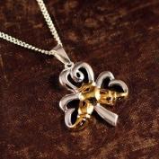 Shamrock Claddagh Necklace