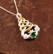 Claddagh Knot Necklace