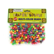 Krafters Korner Crafting Pony Beads, Multicolor