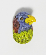 Incredible Parrot Bead By Al Janelle of Ambeadextrous
