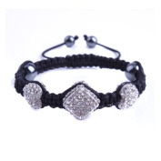 """""""BenZhi"""" Collection Presents """"Our Hearts"""" Shamballa-inspired Bracelets"""