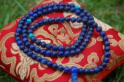 Genuine Lapis Lazuli Mala 108 Beads for Meditation GMS-24