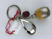 Baccarat Animal Key Ring Charm BEAR TIN