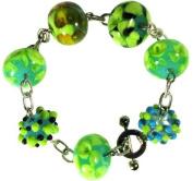 Bracelet - Green Beads