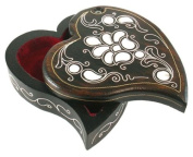 Mother of Pearl Jewellery Box with Mother of Pearl Inlaying