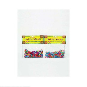 144 Multi-colour crafting pony beads
