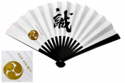 "Japanese Iron Fan (Tessen)#22 ""Hijikata"""