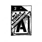 Duro - Stencil-It Reusable Lettering Set