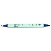 Writer .5mm & 1.2mm Dual Point Marker-Navy