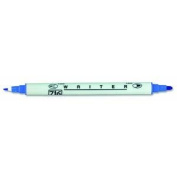 Writer .5mm & 1.2mm Dual Point Marker-Blue Jay