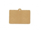 20 Gift Brown Tag Cardboard with 20 String Lugguage Hang Tag Product Label
