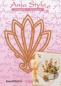 Ecstasy Crafts Stencil - Anja Style - Leaf