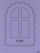 Ecstasy Crafts Window- Cutting Template