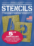 Pro Art Painting Stencil Set