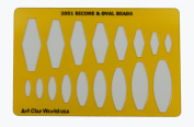Artistic Design Template - Bicone & Oval Beads