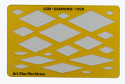 Artistic Design Template - Diamond Thin