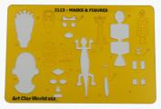Artistic Design Template - Masks & Figures