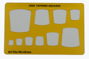 Artistic Design Template - Tapered Squares