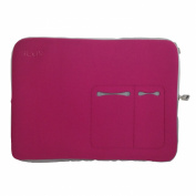 iLuv 43cm Macbook Pro Sleeve - Pink