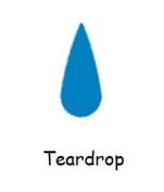 Carl CarlaCraft Small Craft Punch - Teardrop
