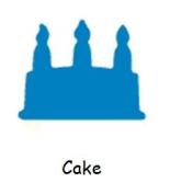 Carl CarlaCraft Medium Craft Punch - Cake