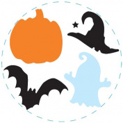 Clever Lever Xtra Giga Craft Punch, Multi Shape Halloween