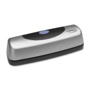 New-Swingline 74515 - 15-Sheet Electric Portable Desktop Punch, Silver/Black - SWI74515