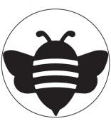 Martha Stewart Crafts Double Punch Bumble Bee, Medium