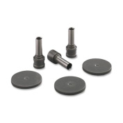 Wholesale CASE of 10 - Carl Mfg RP2100 Punch Head Kit-Replacement Punch Kit,0.7cm ,100 Sheet Cap.,2 Heads/4 Discs