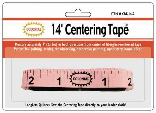 Colonial Needle 14-Feet Centering Tape