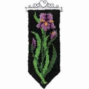 Craftways Spring Iris Latch Hook Kit