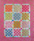25-patch Quilt Pattern By 4th & 6th Designs