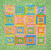 Spring Fever Quilt Pattern By 4th & 6th Designs