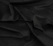 Black Upholstery Micro Plush Velvet Upholstery and Drapery Fabric