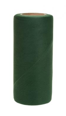 Falk Fabrics Tulle Spool for Decoration, 15cm by 25-Yard, Emerald