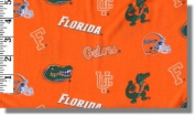 University of Florida By Sykel - 100% Cotton 110cm Wide By the Yard