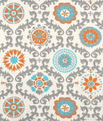 Premier Prints Rosa Mandarin Dossett Fabric - by the Yard