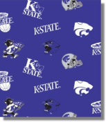 Kansas State University by Sykel - 100% Cotton 110cm By the Yard
