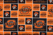 Oklahoma State University By Sykel - 100% Cotton 110cm Wide By the Yard