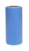 Falk Fabrics Tulle Spool for Decoration, 15cm by 25-Yard, French Blue