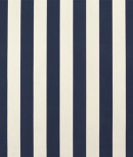 Premier Prints Outdoor Vertical Deep Blue Fabric - by the Yard