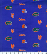 NCAA Cotton Print-Florida Herringbone